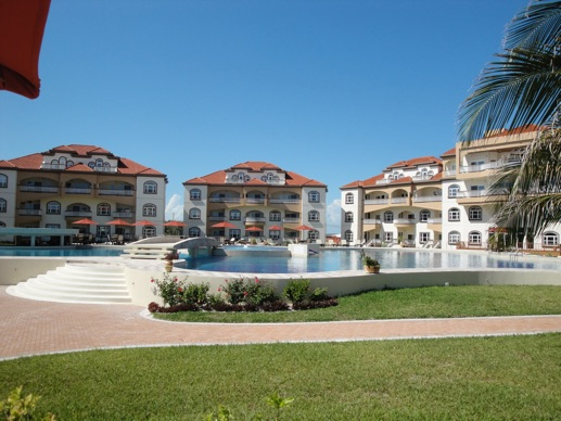 Oceanfront Vacation Condo Rentals at Grand Caribe in Belize